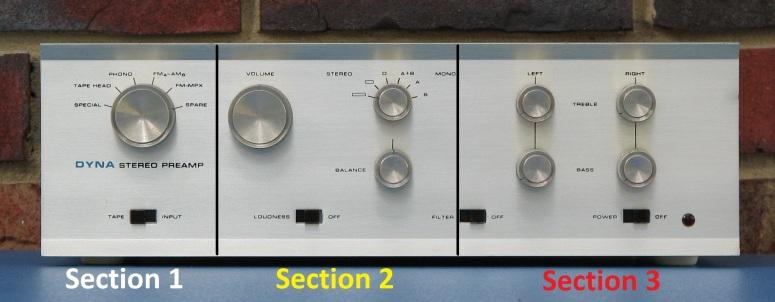 Dynaco PAS Preamp Control Kits